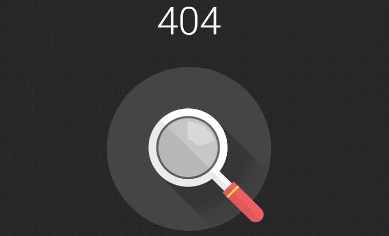ハイローオーストラリアで「404」が表示される際の画像